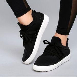 Steve Madden Women's Lancer Athletic Sneaker Black